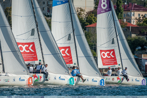 ZID ART Team Wins Russian J/70 Sailing League- Act IV