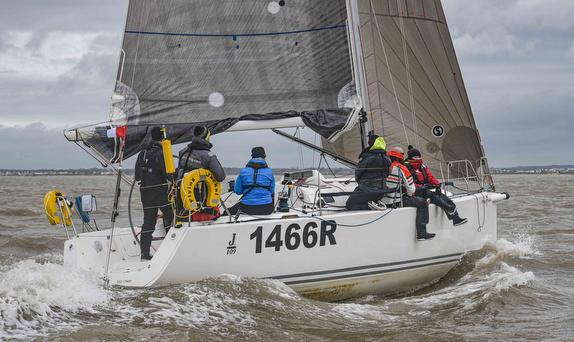 J/109 sailing Warsash Spring Series- England