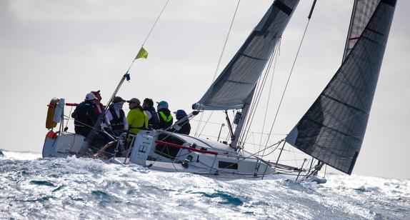 J/92 sailing Key West Race