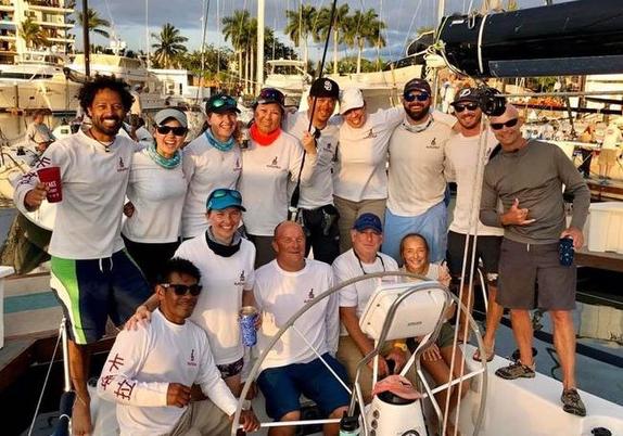 J/145 Katara sailing team