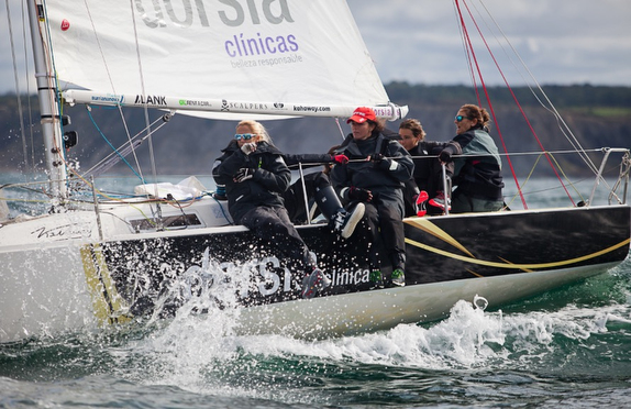 J/80 Women's Cup Smashing Success!