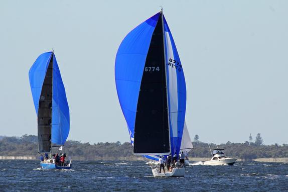 J/122 sailing Australia