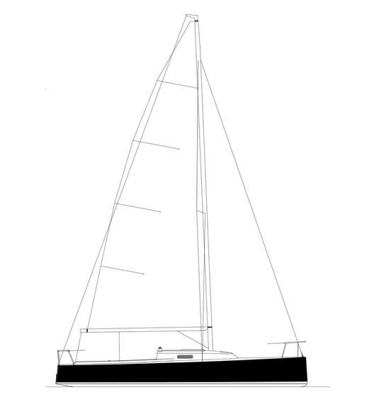 J/9 sailplan