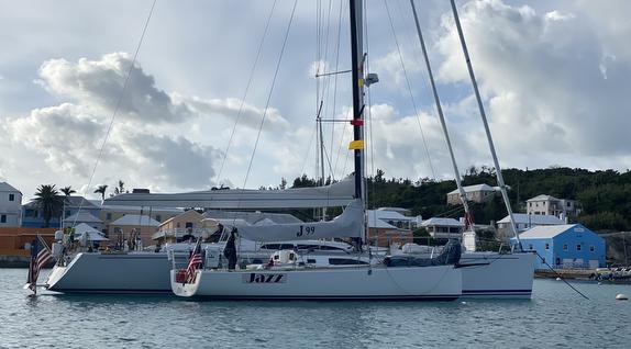 J/99 off Bermuda