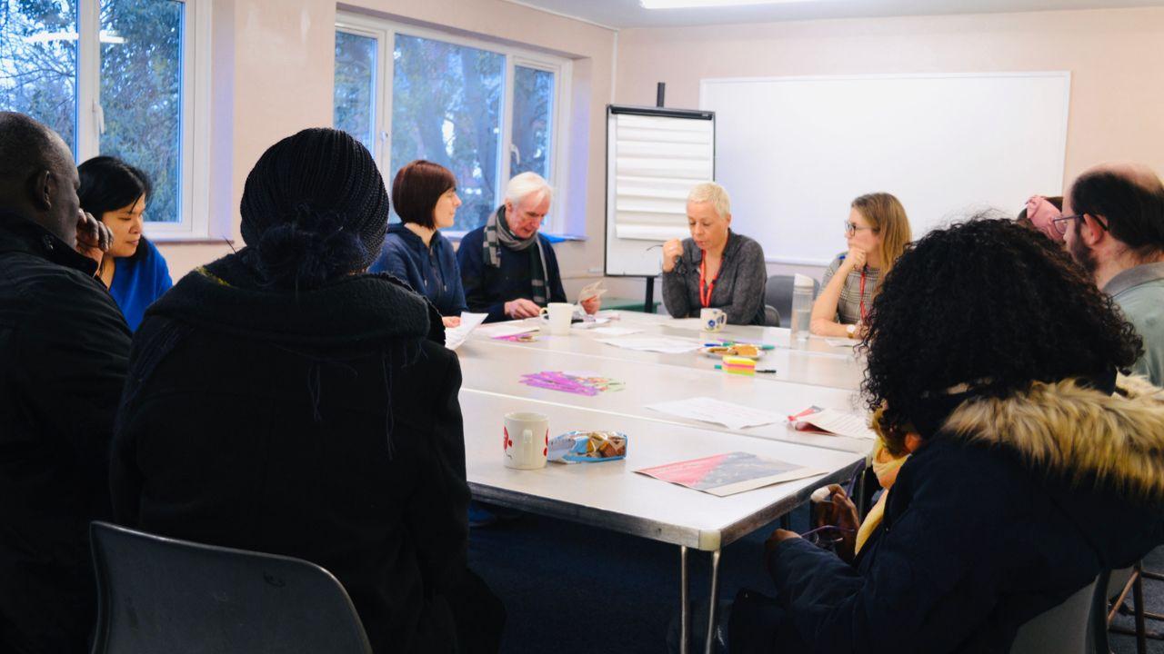 EHC Plan meeting of people