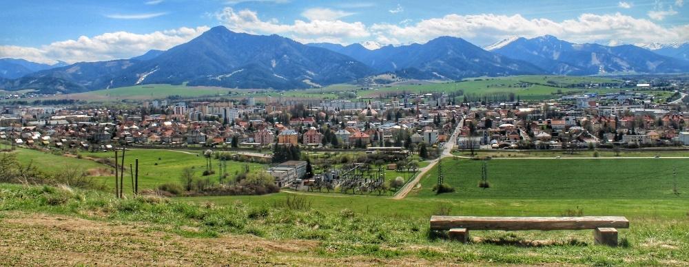 Vyhliadka medzi Lesoparkom Háj-Nicovô a Mútnikom