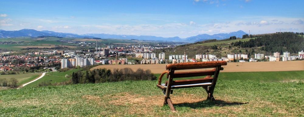 Vyhliadka nad mestskou časťou Stošice