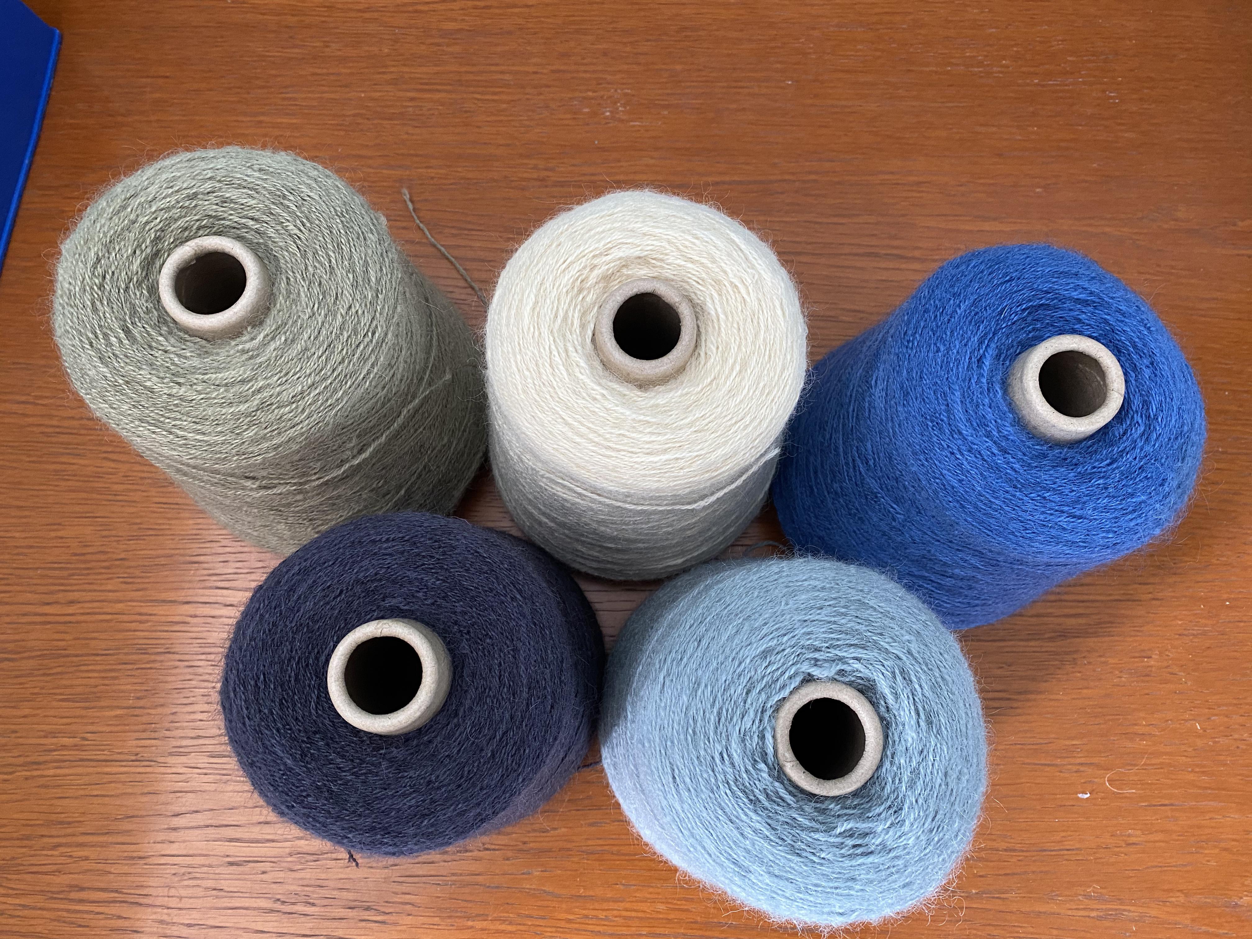 4 Ply British Wool cones