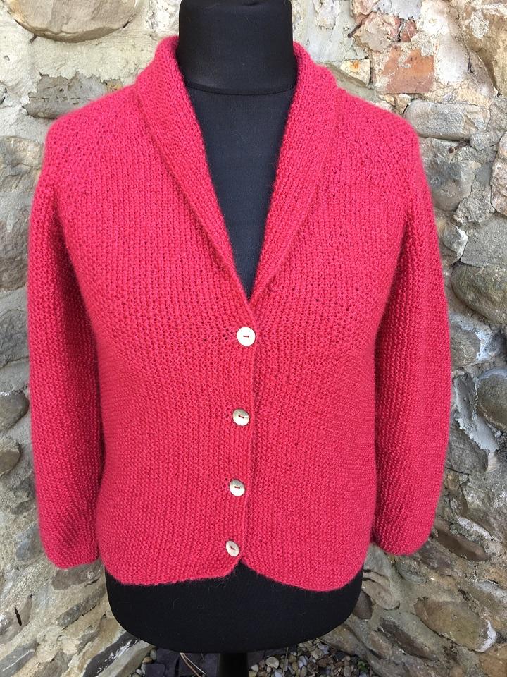 Beryl jacket - hand knit garment