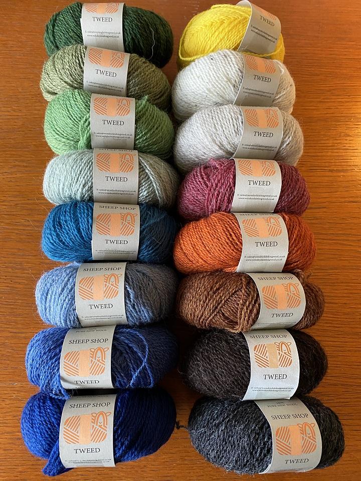 Sheep Shop Tweed yarn