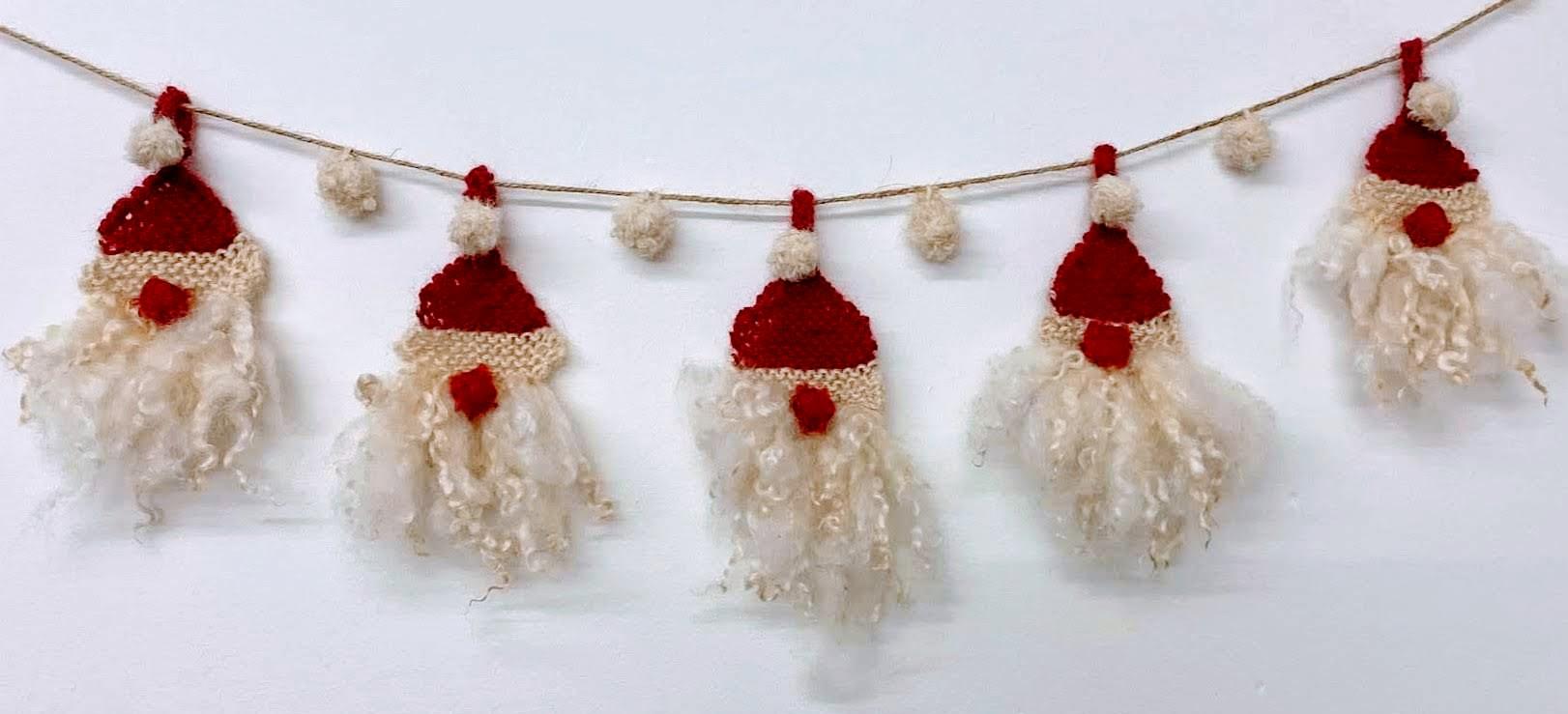 Wensleydale Father Christmas bunting kit