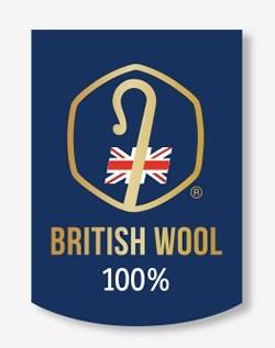 100% British Wool licensee logo