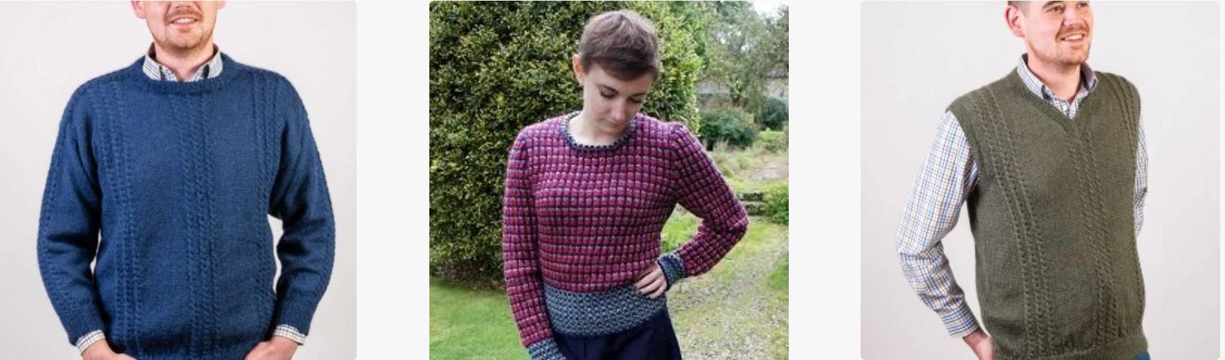 New Wensleydale Longwool Knitting Patterns