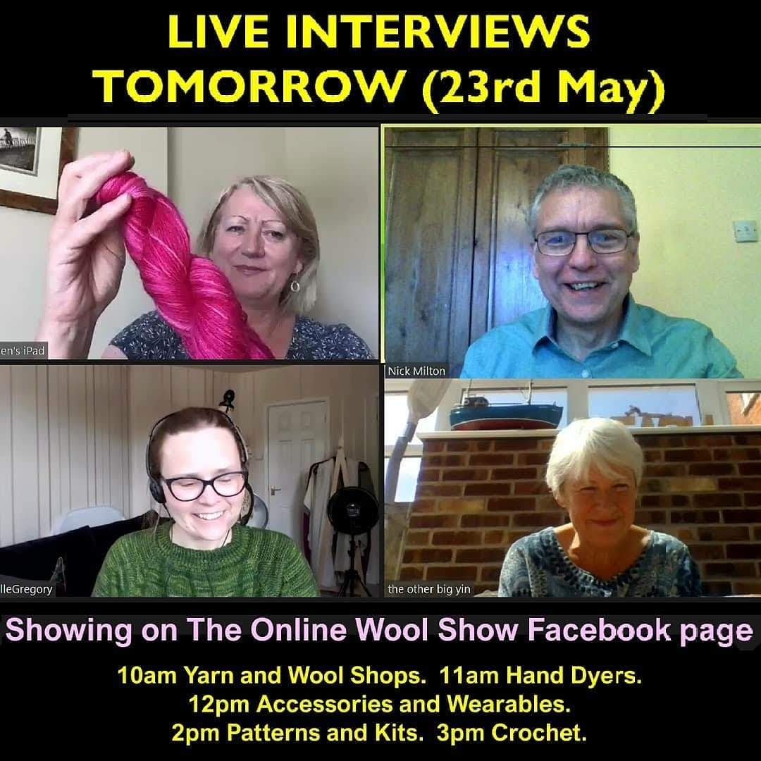 The Online Wool Show live interviews