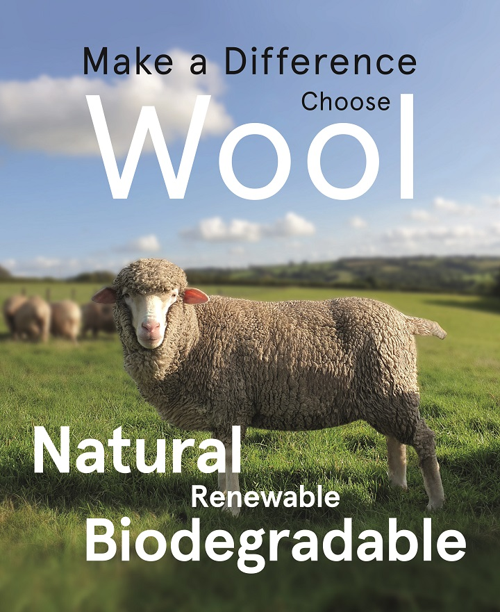 Campaign for Wool - Make a difference, Choose wool