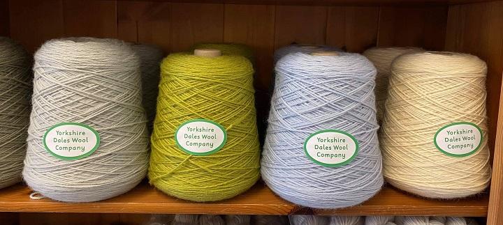Yorkshire Dales Wool Company DK yarn