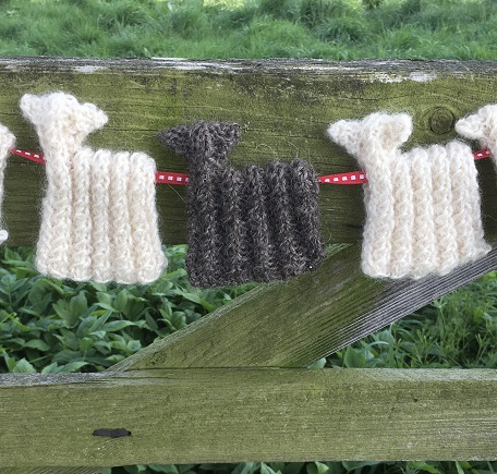Wensleydale Black Sheep Bunting