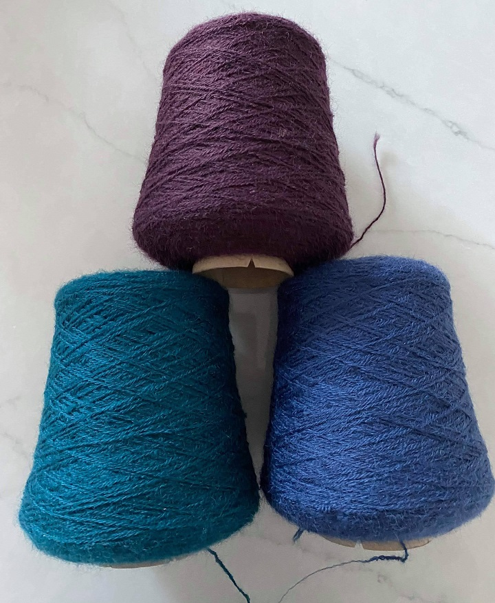 4 Ply British Wool on 500g cones