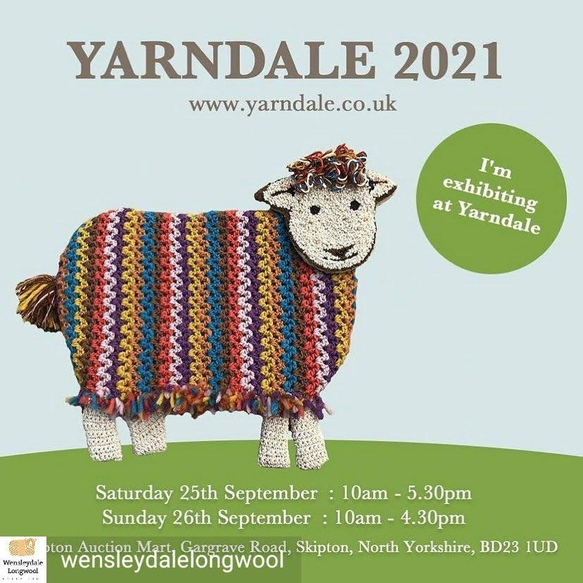 Yarndale 2021 exhibitor graphic