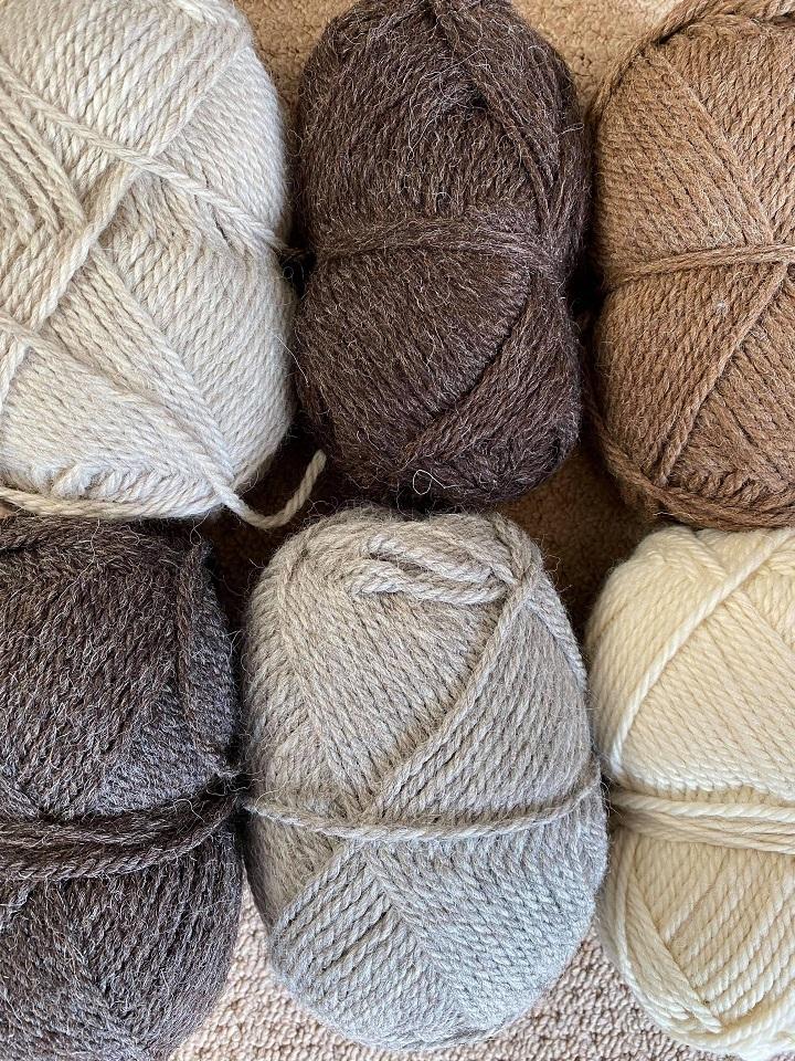 Mixed bag of Chunky British Wool