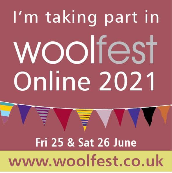 I'm taking part in Woolfest Online 2021