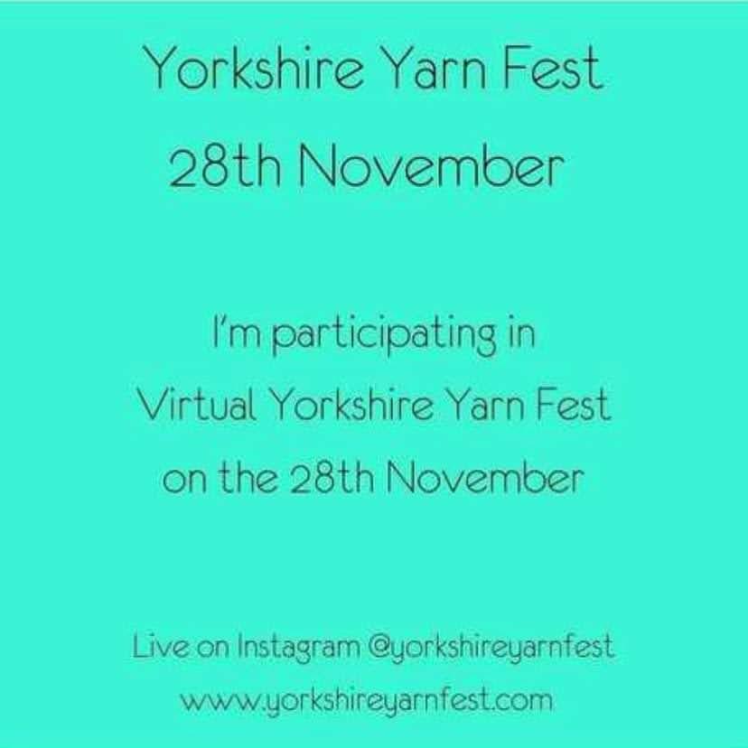 Virtual Yorkshire Yarn Fest - November 2020
