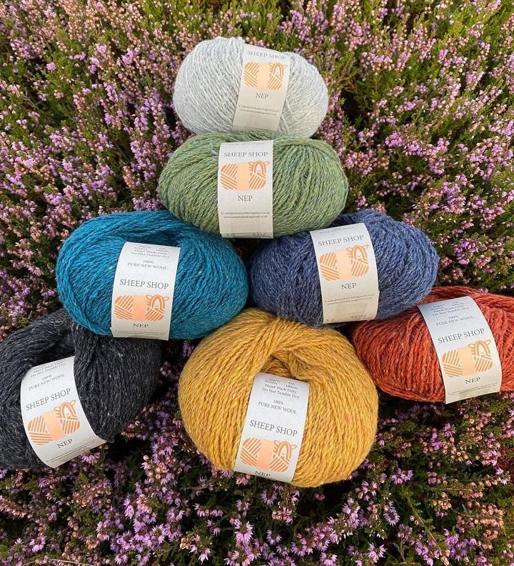 Sheep Shop Nep DK yarn