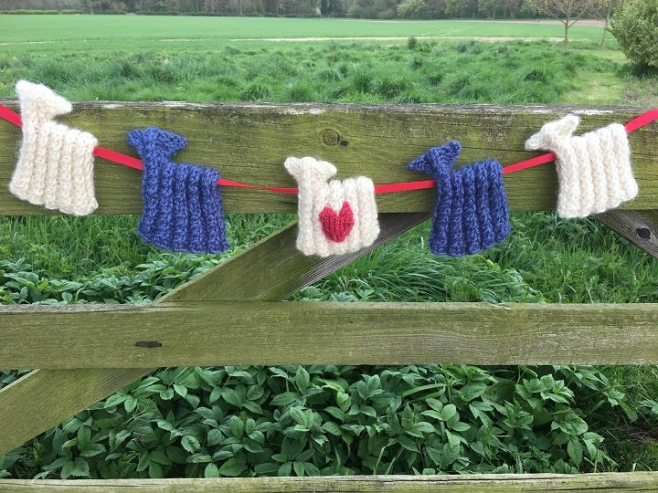 We Love the NHS Sheep Bunting Kit