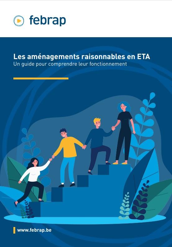 """Couverture du Guide """"Aménagements raisonnables en ETA"""""""