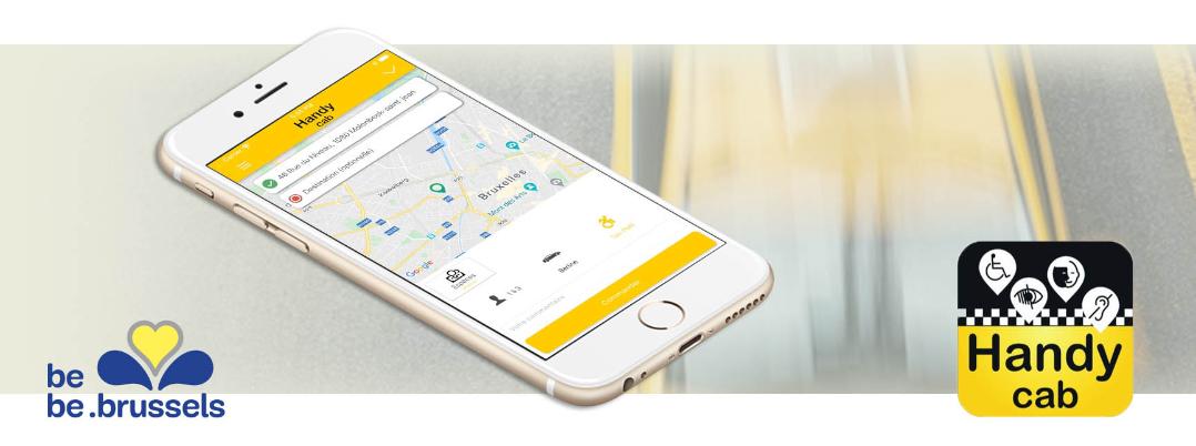 Image de l'application mobile de Handycab