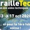 Affiche BrailleTech 2020 : Live et Online : Du 13 au 17 octobre 2020