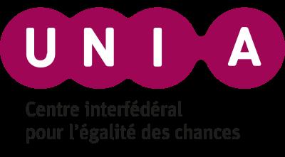 Logo de UNIA (Centre interfédéral pour l'égalité des chances)