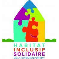 Logo : Habitat Inclusif Solidaire de la Fondation Portray