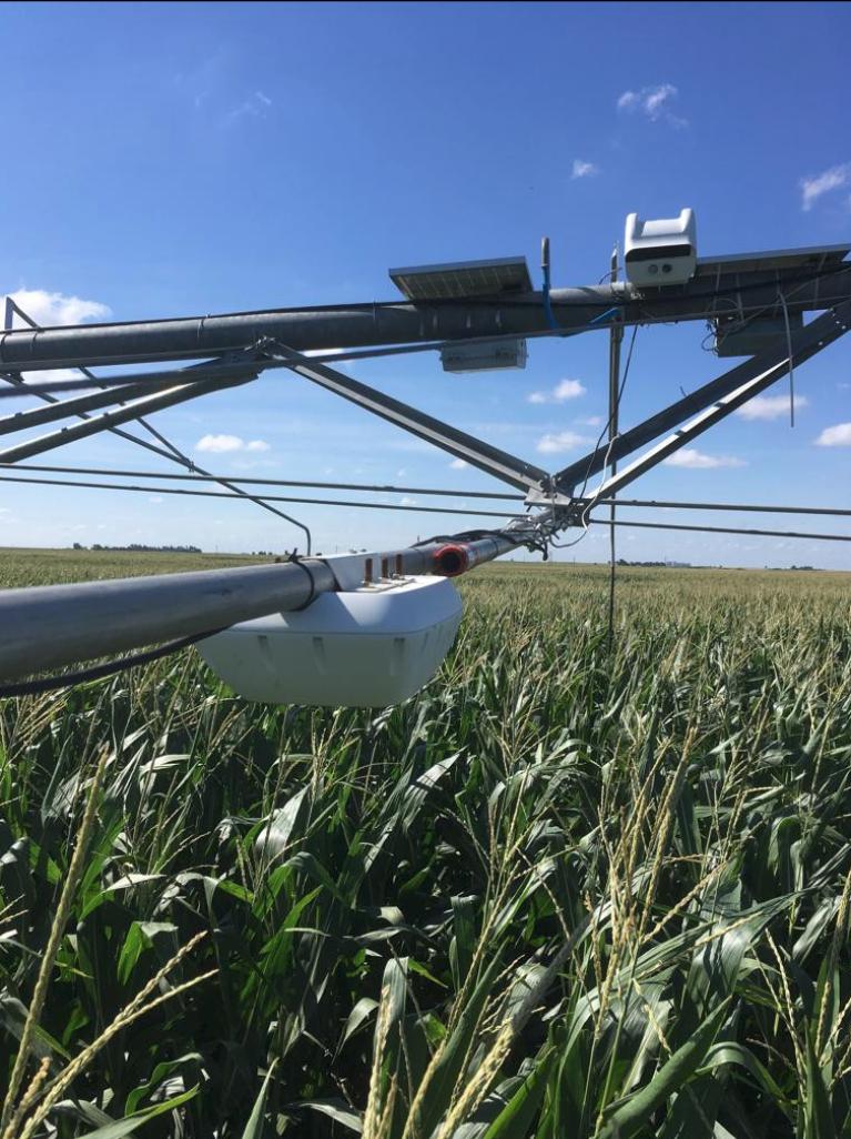 AutonomousPivot LORAWAN IoT solution for agriculture