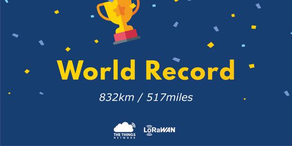 LoRaWAN World Record