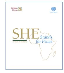She Stands for Peace: 20 Years, 20 Journeys