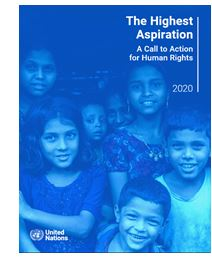 The Highest Aspirations: A Call to Action for Human Rights