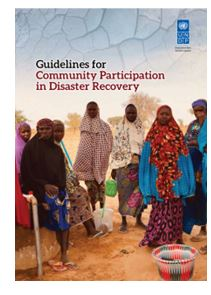 Guidelines for community participation in disaster recovery (UNDP)