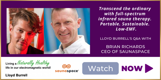 Watch now Lloyd Burrell's Q&A with Brian Richards CEO of SaunaSpace