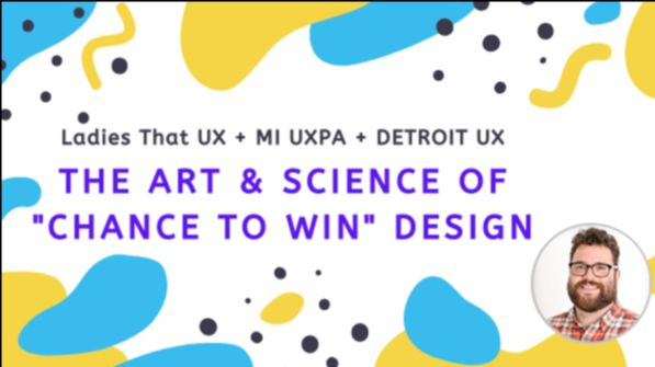 The Art & Science of Chance to Win Design