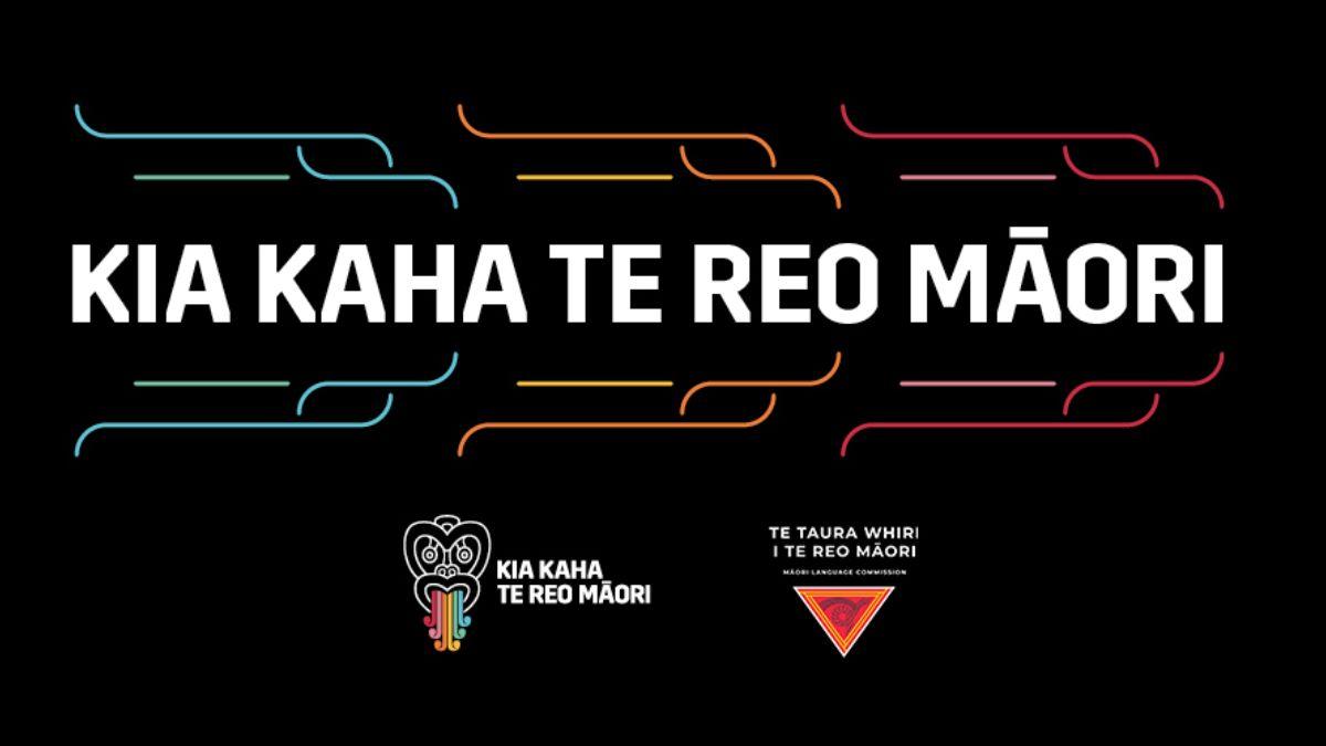 Banner for Te Wiki o te Reo Māori.
