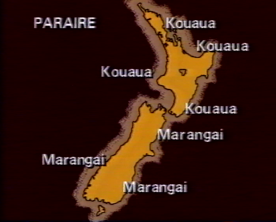 Weather report from 'Te Karere', 13 March 1986