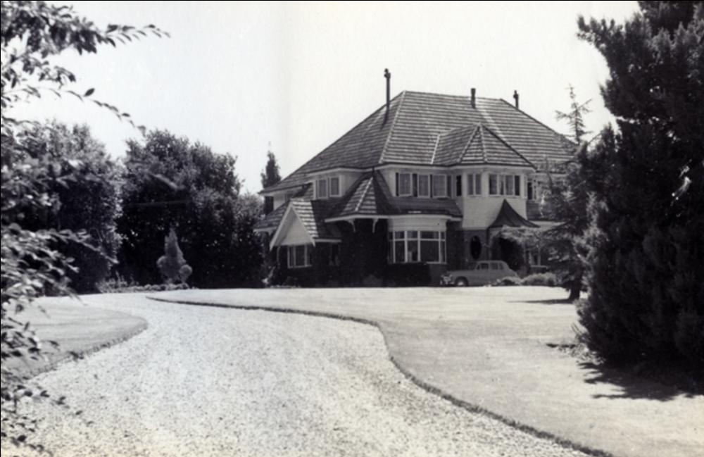 Rahiwi House in Landsdowne, Masterton. Courtesy Wairarapa Archive.