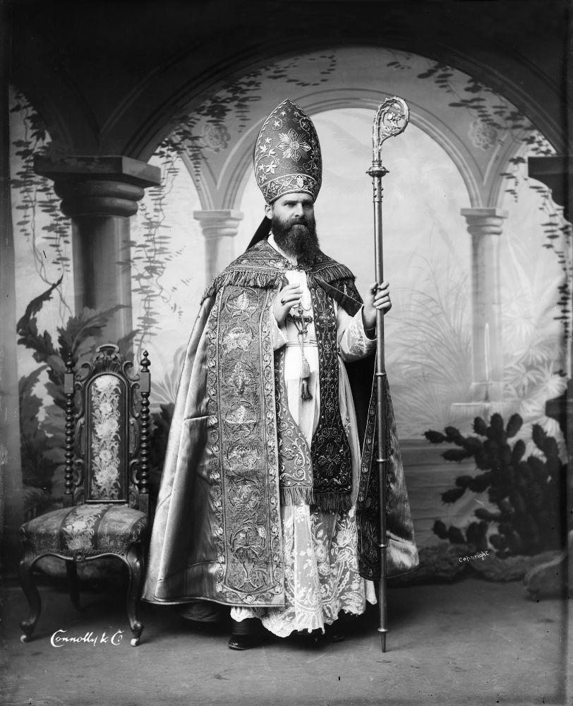 Archbishop Francis William Redwood, 1887-88. Courtesy Te Papa.
