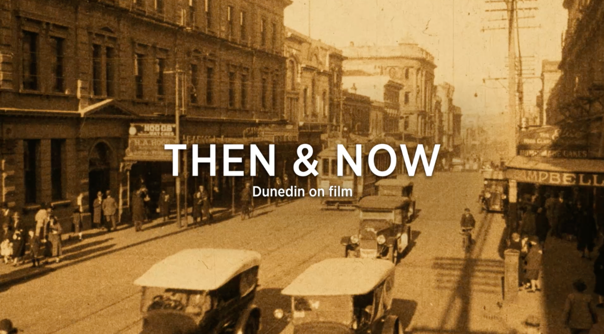 Dunedin Then and Now