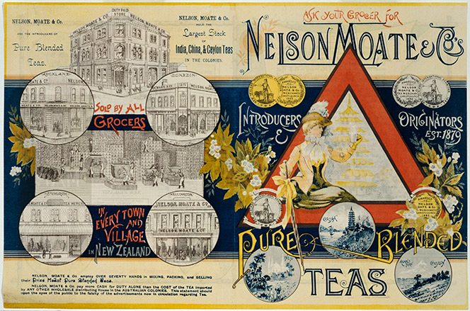 Nelson Moate & Co's pure blended teas.
