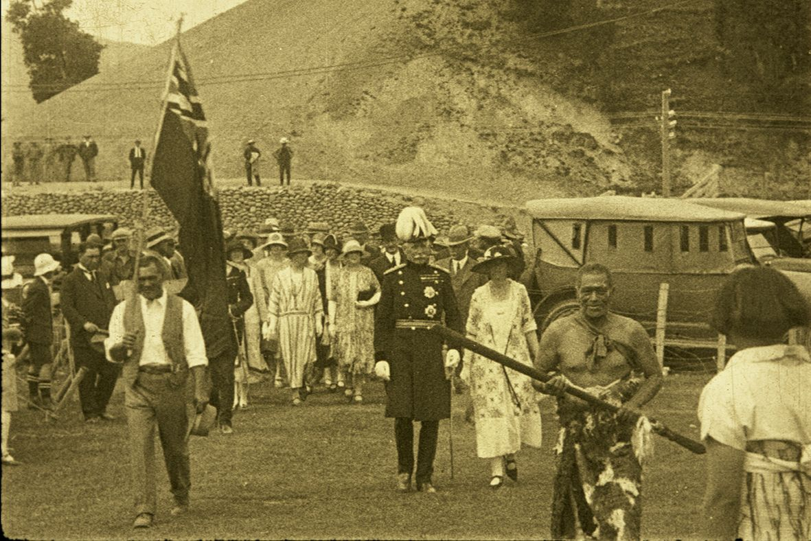 Still from 'Māori Hui at Tikitiki' (S292000).