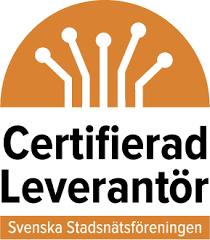 Logotyp certifierad leverantör SSNF