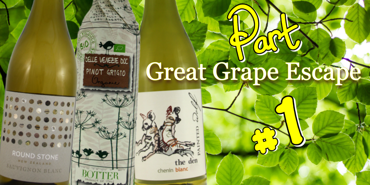 Spring Wines - The Great Grape Escape - Whites