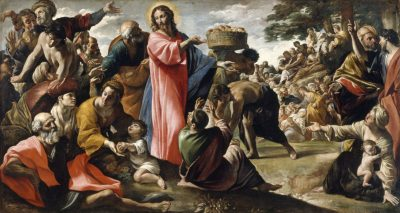 Miracle of the Loaves and Fishes, Giovanni Lanfranco, 1620-1623